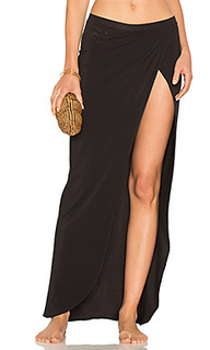 Draped wrap skirt - Sauvage