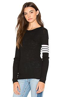 Aliz stripe band sweater - 360 Sweater