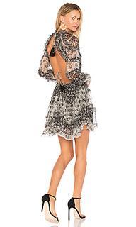 Платье со сборками divinity - Zimmermann