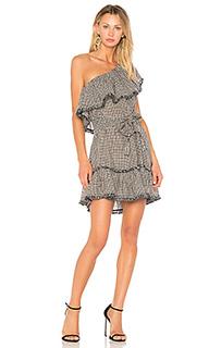 Платье с рисунком в елочку paradiso - Zimmermann