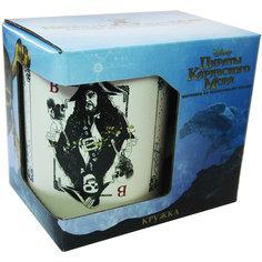 """Кружка """"Пираты Карибского Моря. Карты"""" в подарочной упаковке, 500мл., Disney"""