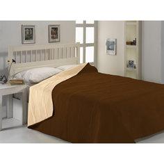 Покрывало 1,5 сп Brielle Micro satin bedspread,160х225, TAC, коричневый