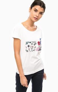 Хлопковая футболка с короткими рукавами Marc Opolo