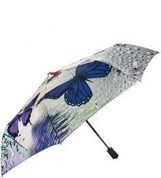 Складной зонт с разноцветным куполом Flioraj