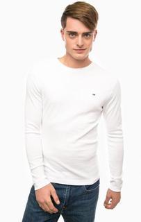 Базовая футболка с длинными рукавами Hilfiger Denim