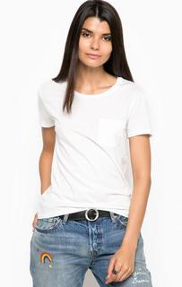 Белая футболка из хлопка с круглым вырезом Levis®