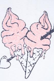 Хлопковая футболка Ice Cream Zoe Karssen