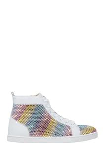 Кожаные кеды Rainbowbip Christian Louboutin