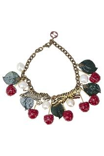 Ожерелье с жемчужинами Gucci