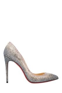 Замшевые туфли Pigalle 100 Christian Louboutin