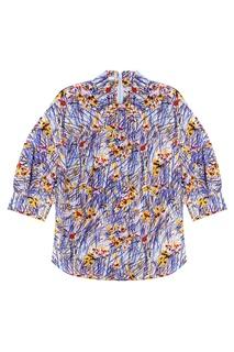 Шелковая рубашка Prada