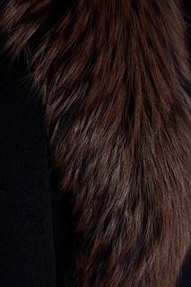 Шерстяное пальто Prada