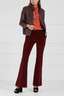 Хлопковые брюки Prada