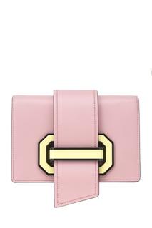 Кожаная сумка Plex Ribbon Prada