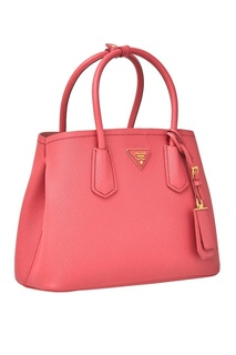 Кожаная сумка Double Prada