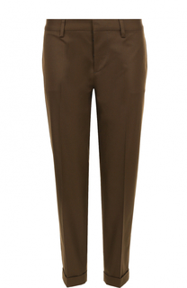 Укороченные брюки из хлопка Dsquared2