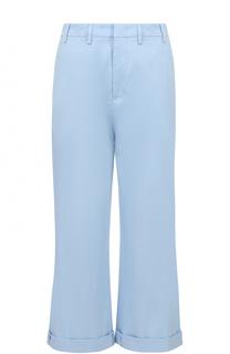 Укороченные брюки из эластичного хлопка No. 21