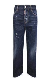 Укороченные джинсы прямого кроя Dsquared2
