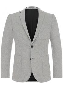 Однобортный приталенный пиджак BOSS