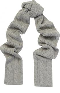 Кашемировый вязаный шарф Lanvin