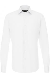 Хлопковая сорочка с воротником кент Balenciaga