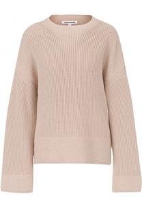 Пуловер фактурной вязки с круглым вырезом Elizabeth and James