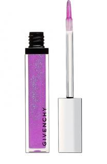 Блеск для губ Gelee D`Interdit, 8 электрический пурпурный Givenchy