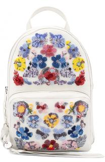Рюкзак с вышивкой бисером Alexander McQueen