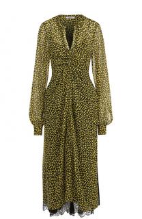 Шелковое платье-миди свободного кроя Dorothee Schumacher