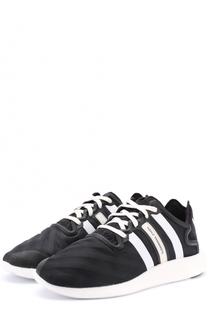 Комбинированные кроссовки на шнуровке Y-3