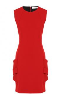 Приталенное мини-платье без рукавов Victoria Beckham