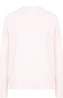 Кашемировый пуловер с круглым вырезом Victoria Beckham