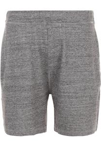 Хлопковые шорты свободного кроя с поясом на резинке Dsquared2