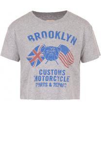 Укороченная футболка с принтом Denim&Supply by Ralph Lauren