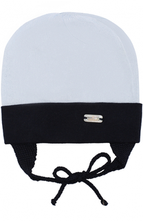 Шапка из хлопка с логотипом бренда Il Trenino