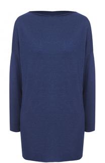 Кашемировый пуловер прямого кроя с вырезом-лодочка Cruciani