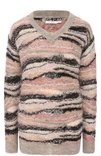 Пуловер прямого кроя с V-образным вырезом See by Chloé