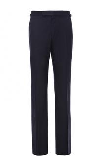 Хлопковые брюки прямого кроя Tom Ford