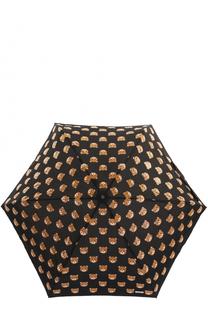 Складной зонт в чехле-игрушке Moschino