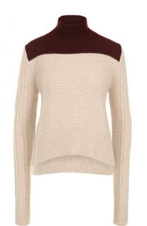 Укороченный свитер фактурной вязки Marni