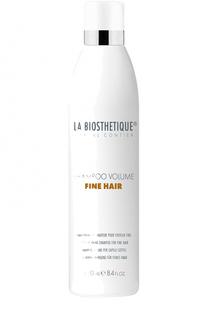 Шампунь для придания объема тонким волосам La Biosthetique