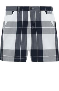 Хлопковые шорты с принтом Il Gufo