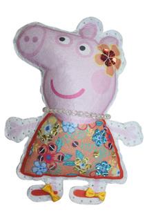 "Шьем игрушку ""Пеппа на отдыхе"" Peppa Pig"