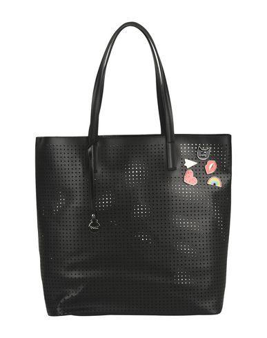 e90740d3373d большой размер, перфорированная ткань, брошь, одноцветное изделие,  внутренние карманы, двойная ручка, без подкладки, сумка-шоппер.