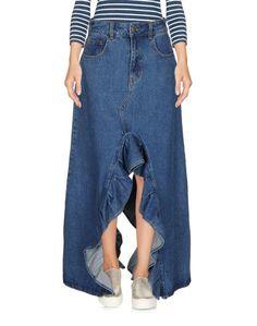 Джинсовая юбка Weili Zheng