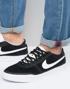 Черные кроссовки Nike SB Bruin Hyperfeel 831756-001 - Черный