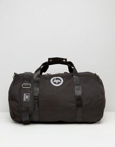 Черная сумка дафл Hype - Черный