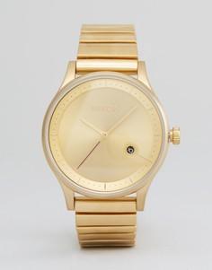 Часы Nixon Station - Золотой