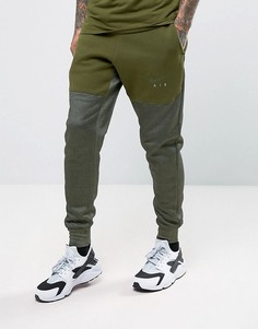 Зеленые суженные книзу джоггеры Nike Air 832152-331 - Зеленый