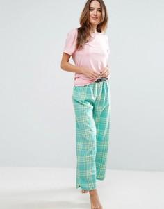 Удлиненная пижама Chelsea Peers - Фиолетовый